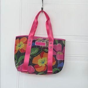 Vera Bradley tote mesh Floral Jazzy Blooms NWOT